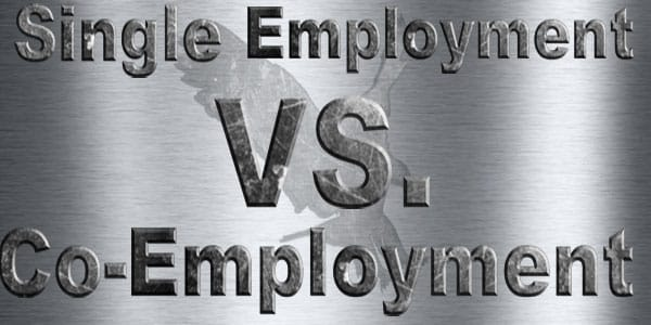 Single employment vs. co-employment